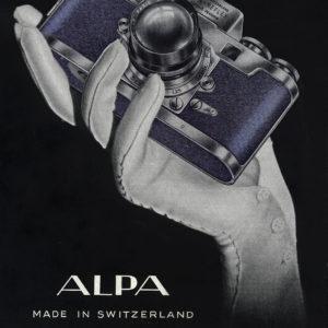Alpa, une production suisse légendaire