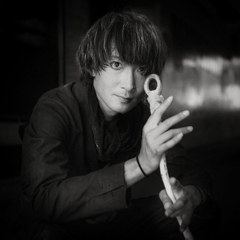 Tsusaba Watanabe, artiste de rue, Vevey, 2019. Photo JC Péclet