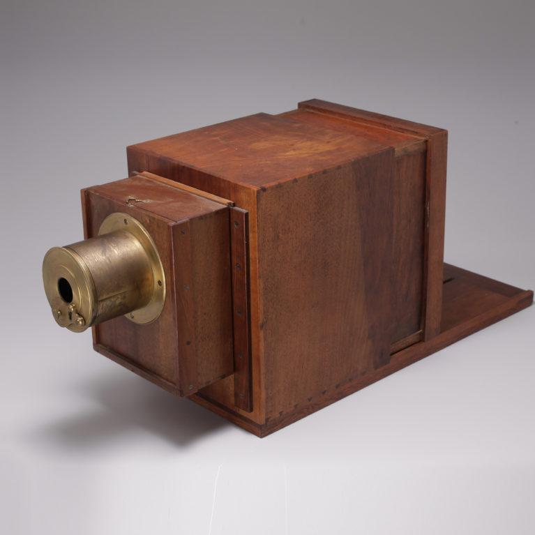 Les équipements des premiers photographes