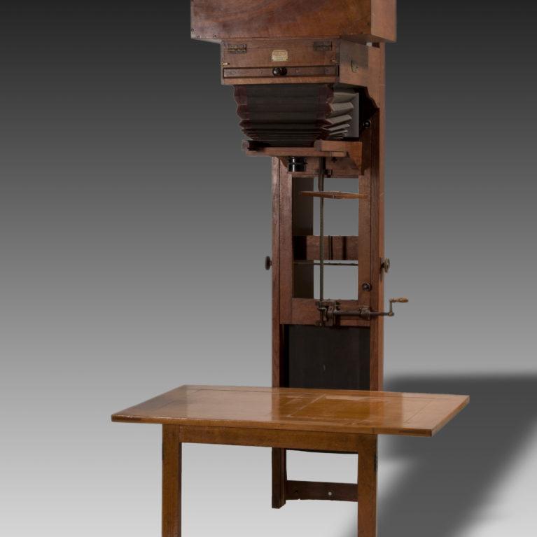 Le laboratoire du photographe vers 1900