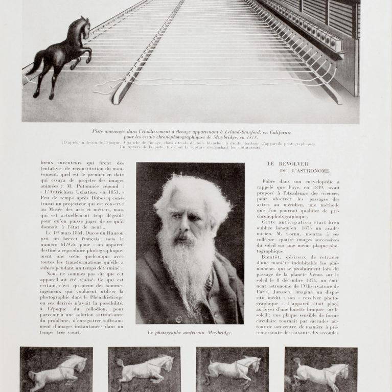 Eadweard Muybridge et la restitution du mouvement