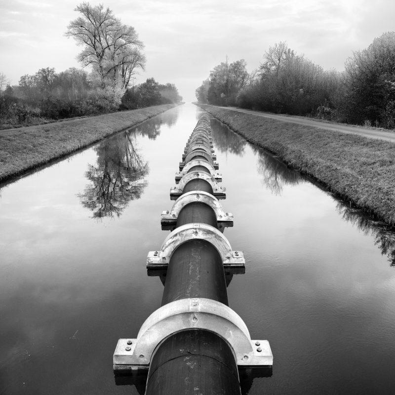 Noville, Grand Canal, 2019. Photo JM Yersin