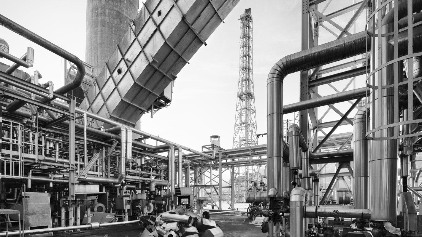 Post Petra Petroleum, raffinerie désaffectée, 2020. Photo JM Yersin