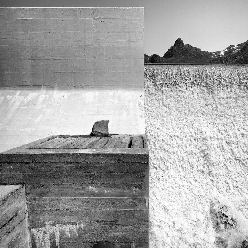 Val de Bagne, barrage de Louvie, 2015. Photo JM Yersin
